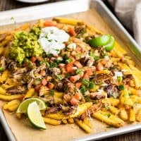 Carnitas Nacho Fries
