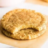 Small-batch Snickerdoodles