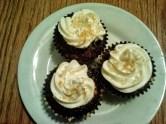 Chocolate Graham Cracker Cupcakes