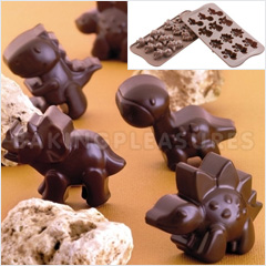 Dinosour Silicone Chocolate Mould
