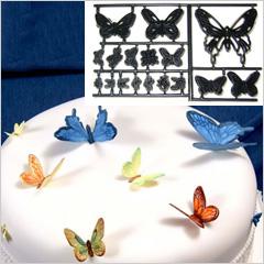 Patchwork Cutters Butterflies Ladybirds Bees