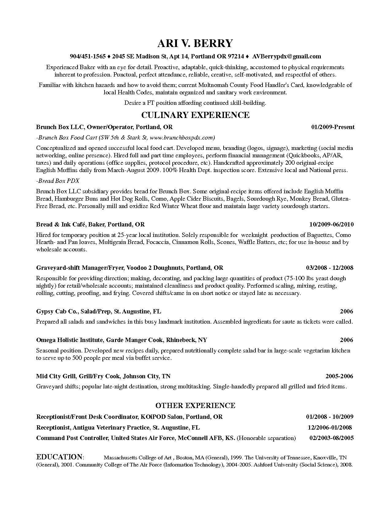 Resume Veterinary Technician Examples Veterinarian