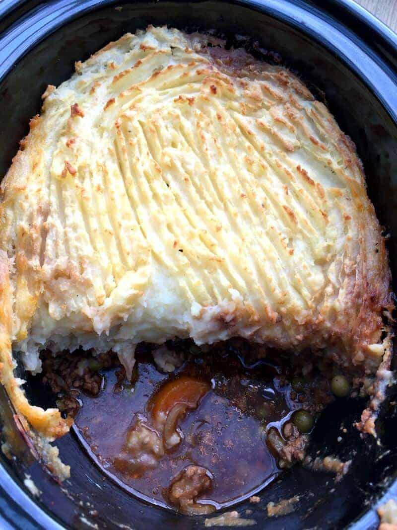 Slow cooker shepherd's pie - Family slow cooker recipes