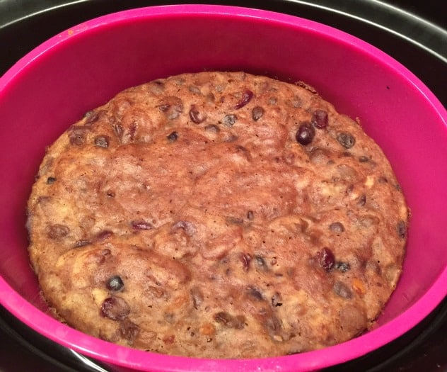 Slow Cooker Cranberry and Ginger Tea Loaf Cake from BakingQueen74