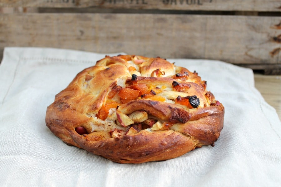 Apricot and Apple Couronne