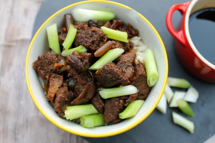 Slow Cooker Teriyaki Beef - a delicious and easy to make crockpot dish