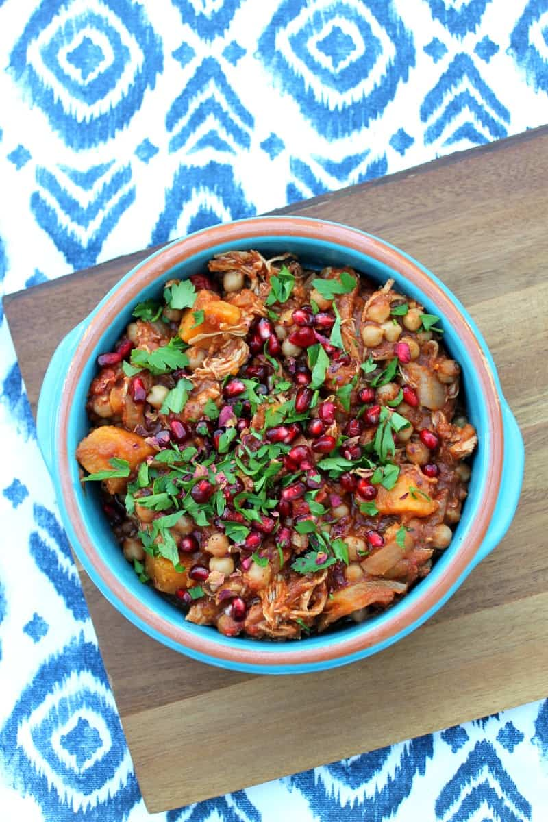 Slow Cooker Chicken and Sweet Potato Tagine on BakingQueen74.co.uk