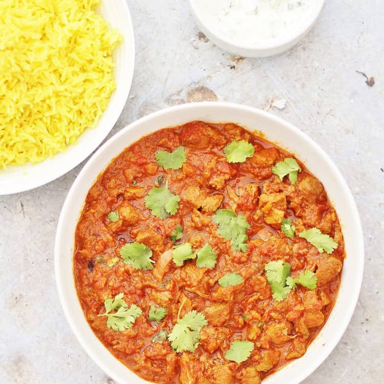 Slow Cooked Lamb Bhuna from Easy Peasy Foodie