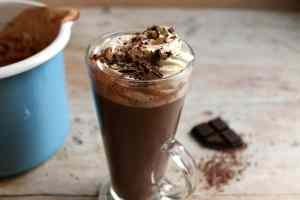 Extra thick and creamy slow cooker hot chocolate
