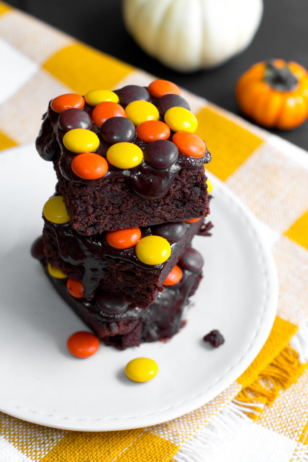 Reese S Pieces Brownies