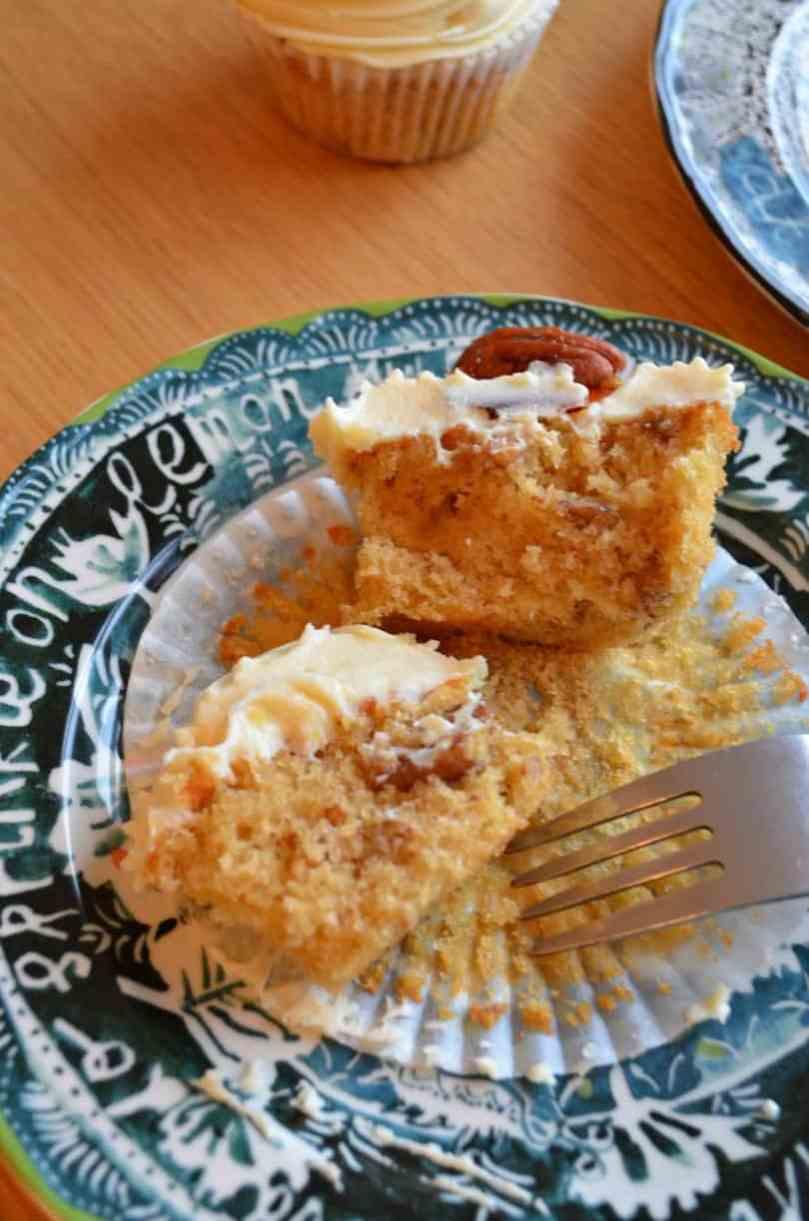 Maple & Pecan Cupcakes
