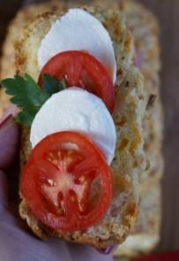 Cheese-black pepper bread