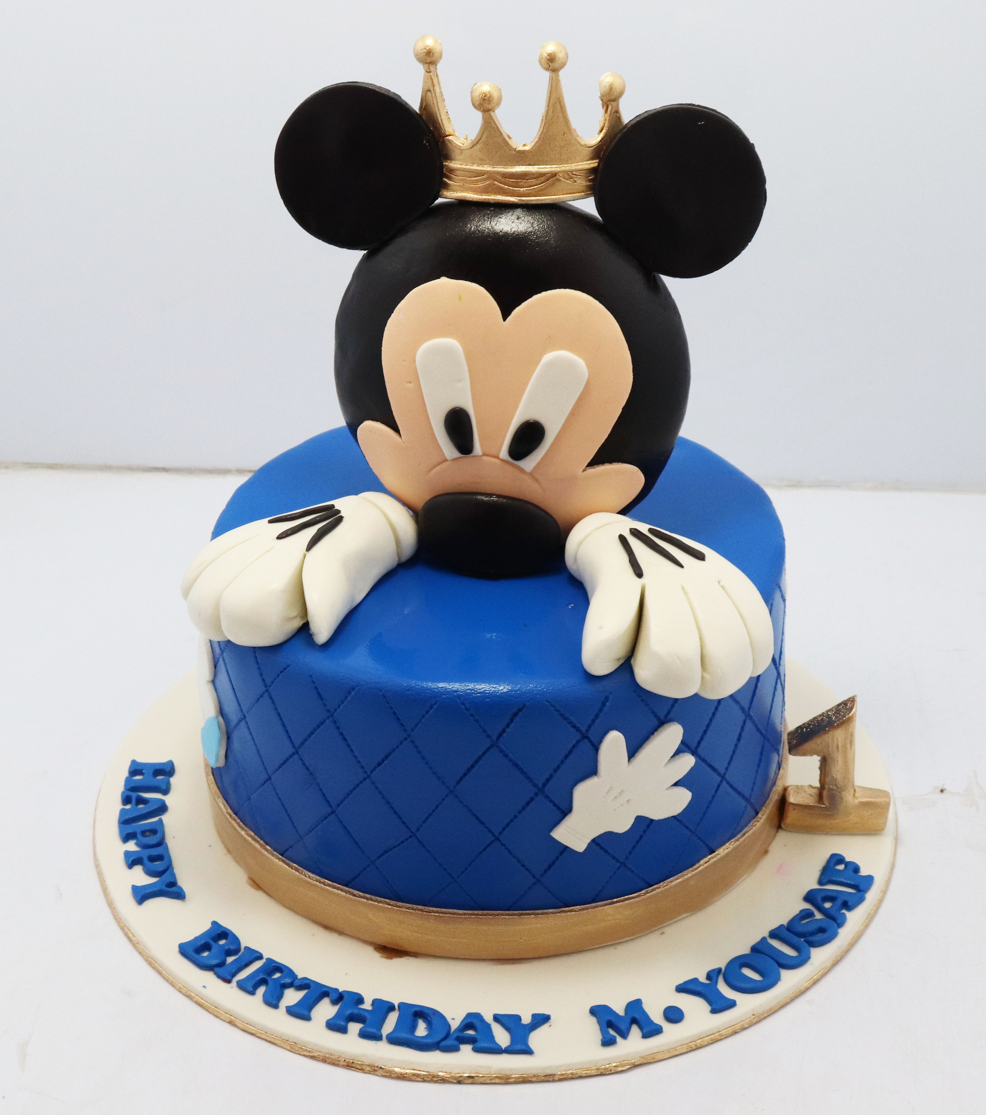 Remarkable Mickey Mouse Kids Birthday Cake Bakisto Pk Lahore Free Delivery Personalised Birthday Cards Beptaeletsinfo