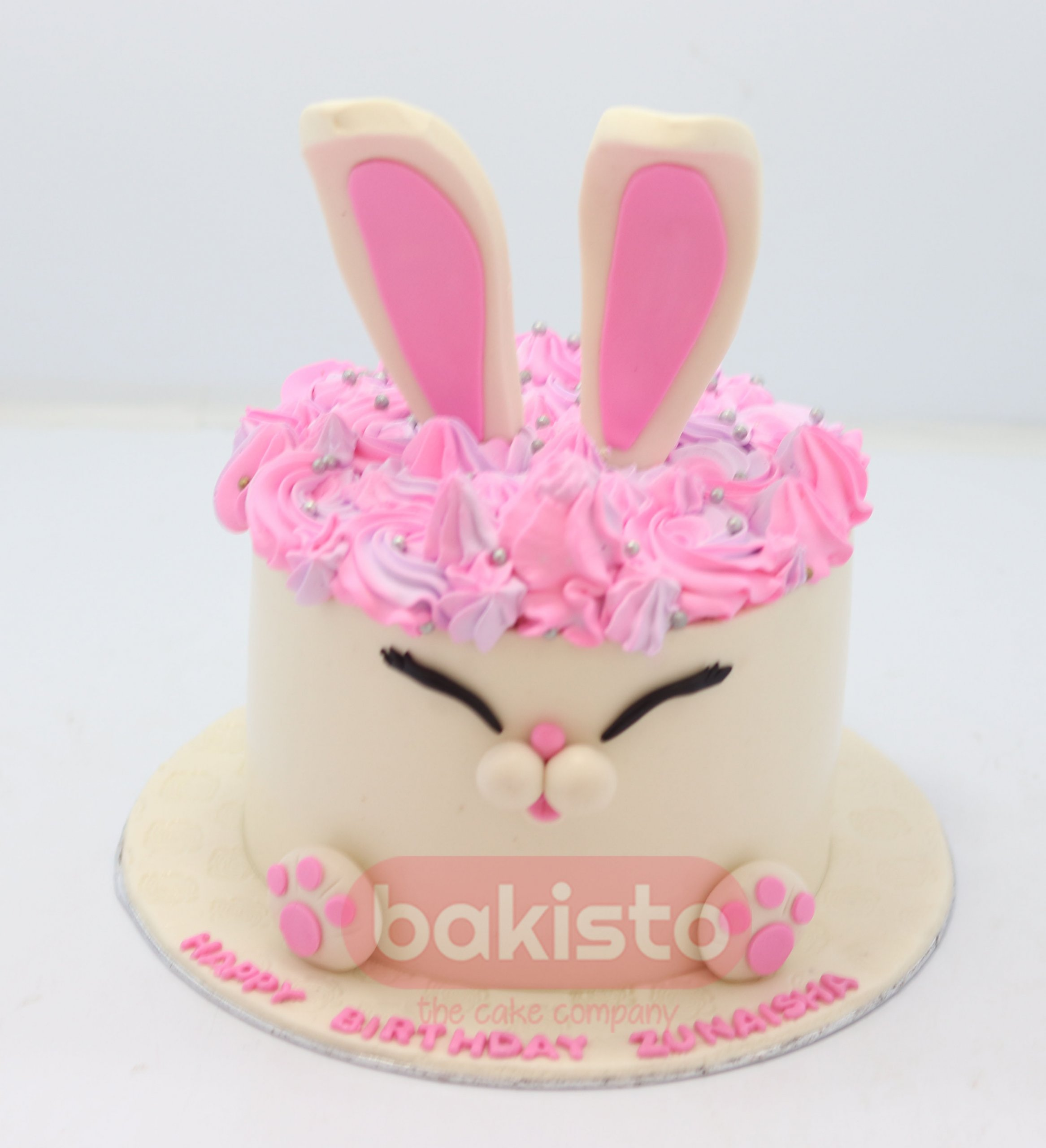 Remarkable Unicorn Theme Cake For Baby Girl By Bakisto In Lahore Personalised Birthday Cards Veneteletsinfo