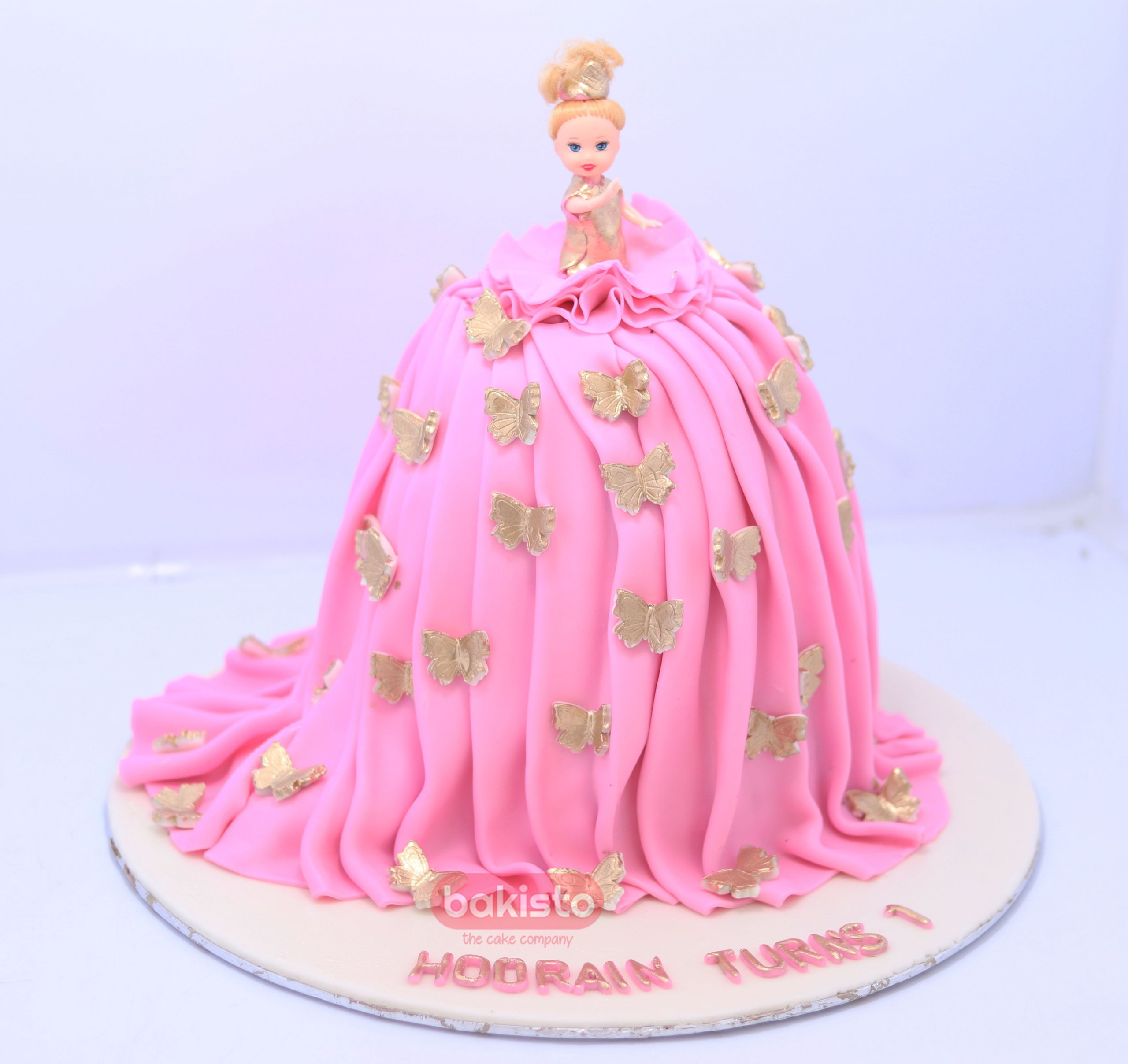 Excellent Barbie Birthday Cake Now Available At Your Doorsteps In Lahore Funny Birthday Cards Online Fluifree Goldxyz