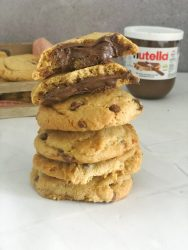 Nutella Chocolate Chip Koekjes