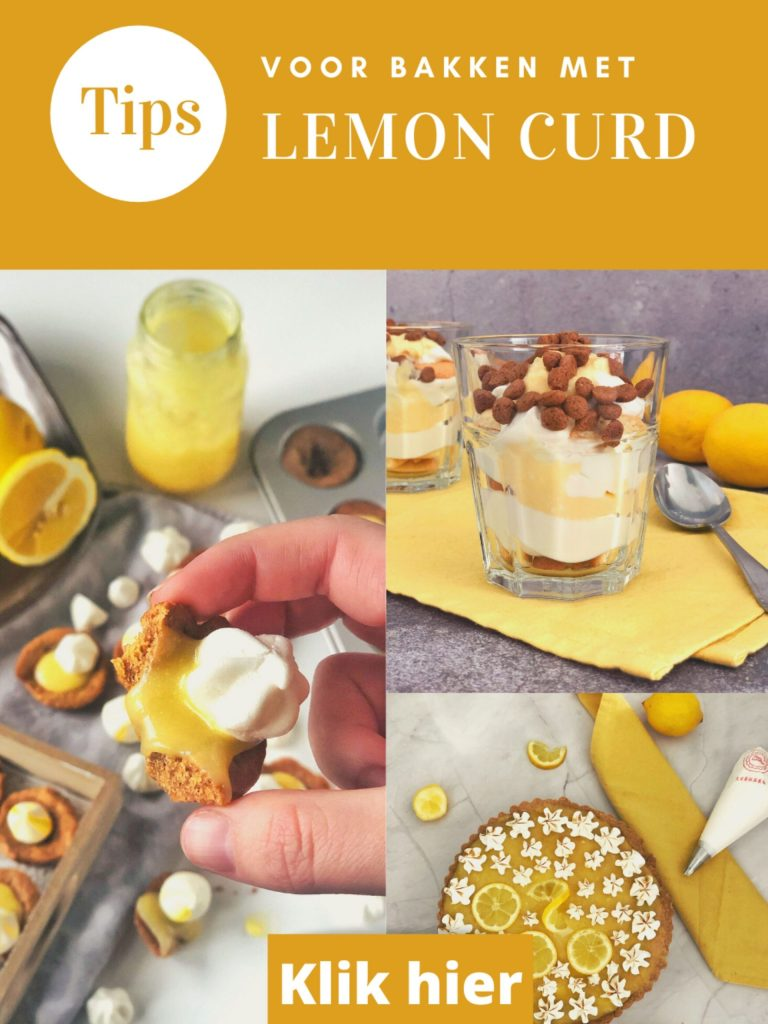 5 Tips bakken met Lemon Curd