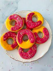 Donut Koekjes met Icing