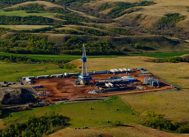 Drilling in North Dakota