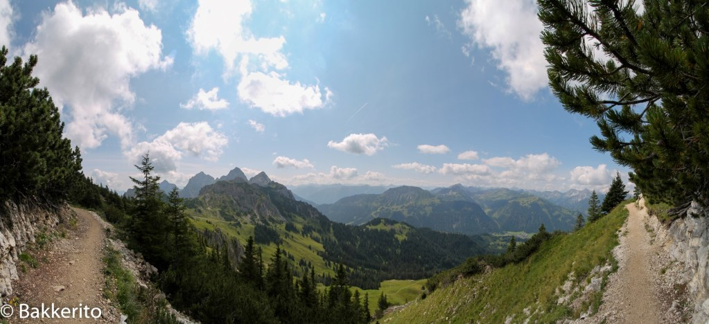 Austrian panorama view