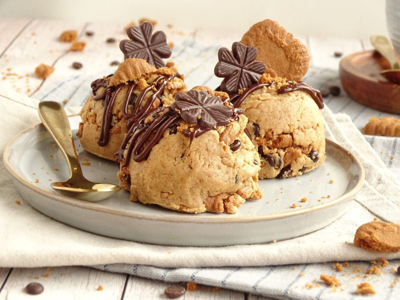 Speculoos cookies dough