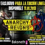 Anarchy Reigns Edicion Limitada