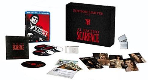 SCARFACE COFFRET COLLECTOR - EDITION LIMITÉE BLU-RAY