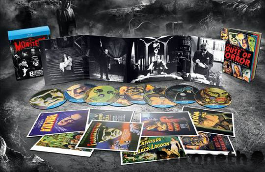 Universal Classic Monsters The Essential Collection Bluray