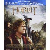El Hobbit Un Viaje Inesperado (DVD + BD + Copia Digital) [Blu-ray]