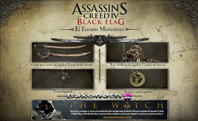 Assasin's Creed 4 - Black Flag bakoneth