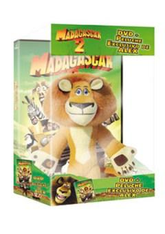 Madagascar 2 Edición Española+ Peluche Alex_bakoneth