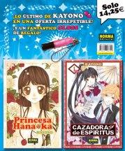 Pack especial KAYONO CAZADORA DE ESPÍRITUS 1 + PRINCESA HANA KA