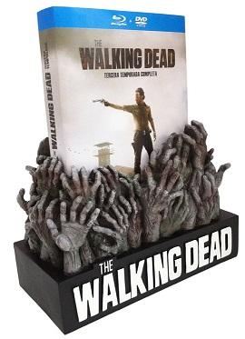 The Walking Dead - 3ª Temporada (DVD + BD) [Blu-ray]