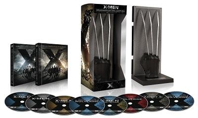 X-Men Saga Colección Adamantium (7 películas + figura de Garras de lobezno) [Blu-ray]_bakoneth