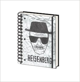 Breaking Bad - Heisenberg A5 Notebook
