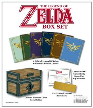 The Legend of Zelda Box Set Prima Official Game Guide