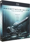 Pack Evolution From Prometheus To Alien [Blu-ray]