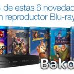 Compra cuatro de estas seis novedades Disney y llévate un reproductor Blu-ray de regalo