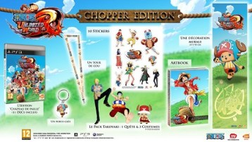 One Piece Unlimited World Red  Edición Chopper