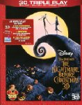 The nightmare before Christmas (2D+3D+e-copy) [Blu-ray]