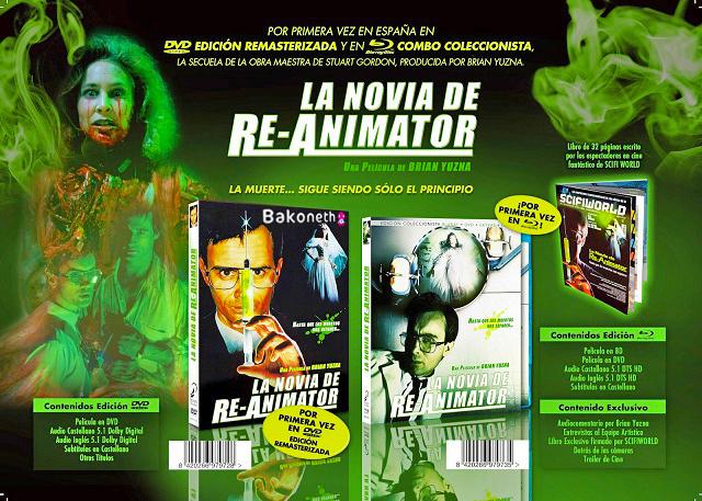 La Novia de Re-Animator - Edición Coleccionista