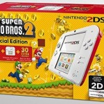 Nintendo 2DS – Consola, Color Rojo + New Super Mario Bros 2