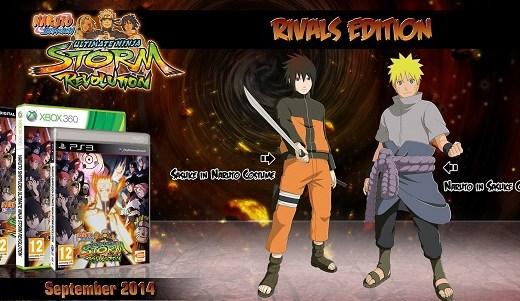 Naruto Shippuden: Ultimate Ninja. Storm Revolution - Rivals Edition