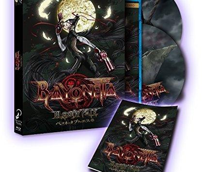 Bayonetta: Bloody Fate (BD + DVD + Libro) [Blu-ray]