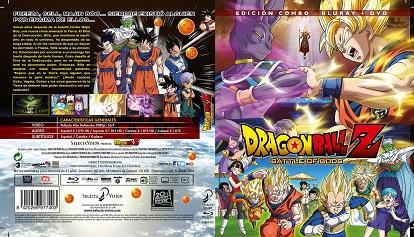 Dragon Ball Z  La Batalla De Los Dioses - Edición combo bluray dvd