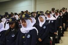Mahasiswa Baru mengikuti PKKMB 2016