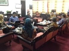 Persiapan Pemateri Workshop Sosialisasi SAKIP