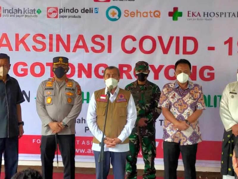 Sehatq fasilitasi vaksinasi covid-19 di tiga provinsi