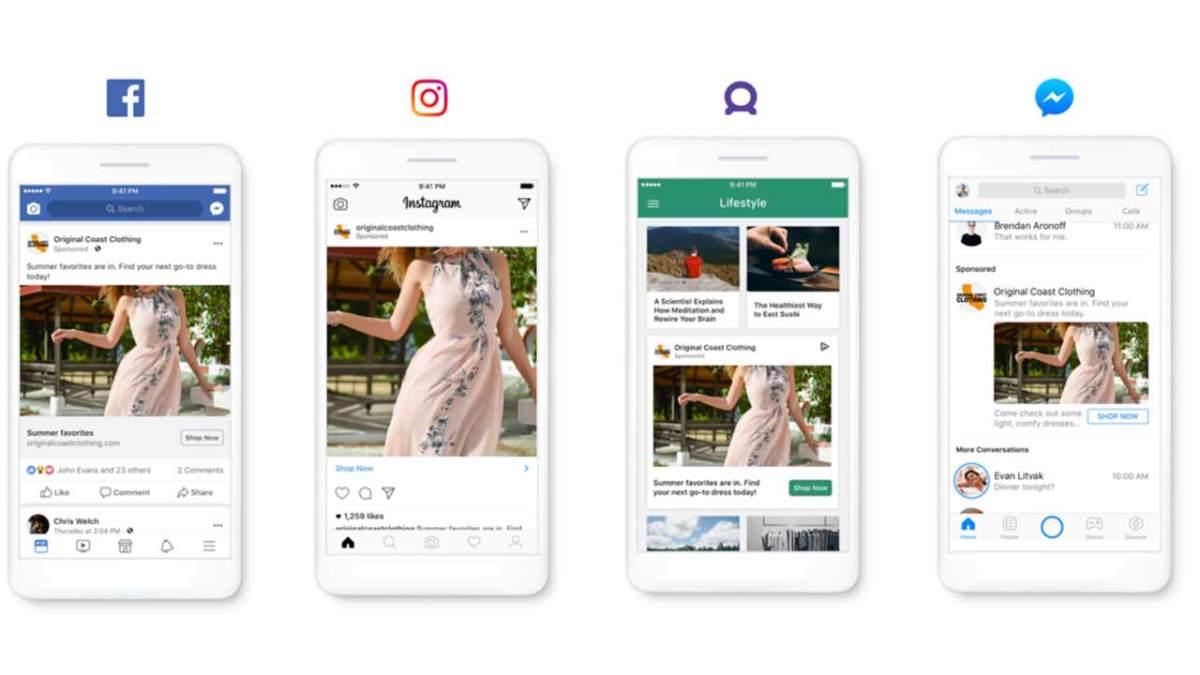 facebook lini aplikasi dan layanan
