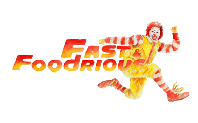 FAST AND FOOD-RIOUS: It's fast, it's food, and it's serious